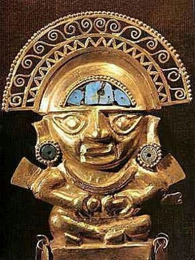 Inti, the Inca Sun God