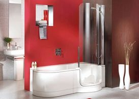 BIANCA BATH STD-1700 WALK IN BATH, BATH  WITH A DOOR, for easy access, and space savvier.