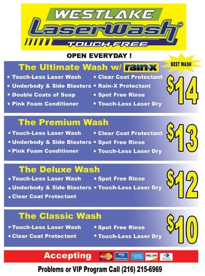 Our Full Wash Detail Page