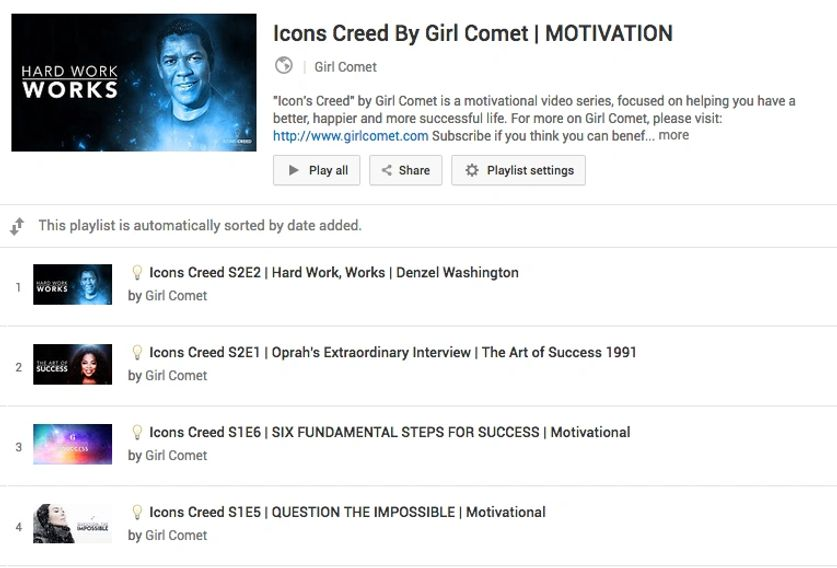 Icons Creed By Girl Comet You Tube