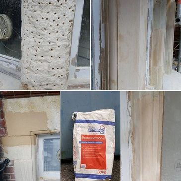 Remmers mortar repairs to Bathstone