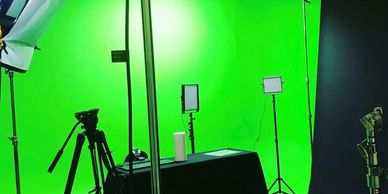 Production Studio Rental Burbank Cyc Studio Green Screen