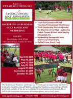 Backswing of Business: Golf Range and Networking Event