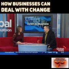 How businesses can deal with change - on Global TV Roger Grona Consultants Consultant Coaching