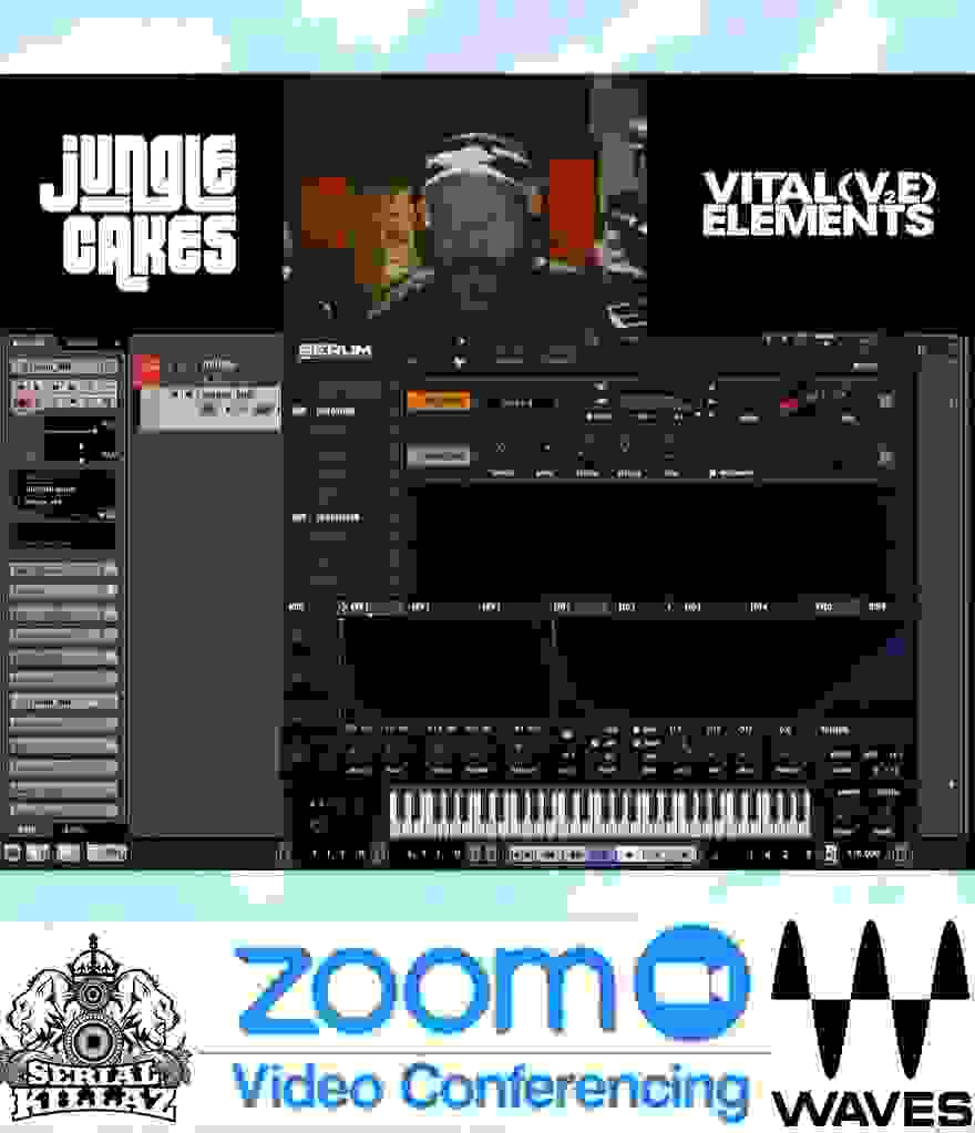 Serial Killaz Vital Elements Jungle Music Drum & Bass  Music Production