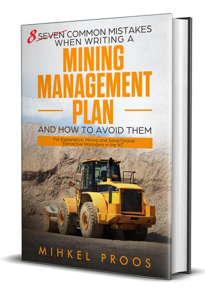 8 common mistakes when writing a mining management plan and how to avoid them.
