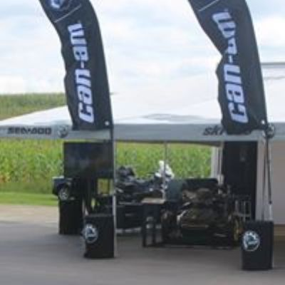 can-am vendor booth