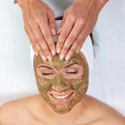 Green Peel Facial natural herbs  rejuvenation  large pores impure  wrinkles pigmentation anti  aging