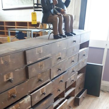 old set of drawers