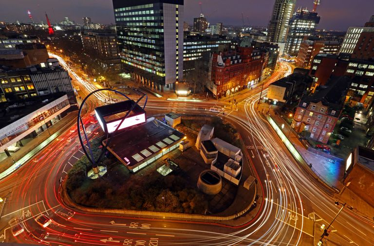 London Silicon Valley Roundabout Old Street Tech Hub Founders Investors Entrepreneurs Business