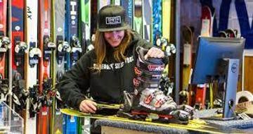 SKIS, BOOTS & POLES RENTAL PACKAGE $29 PER DAY.  -HALFPIPE946-
