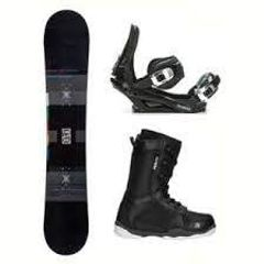 SNOWBOARD & BOOT RENTAL PACKAGE. $29 PER DAY. -HALFPIPE946-