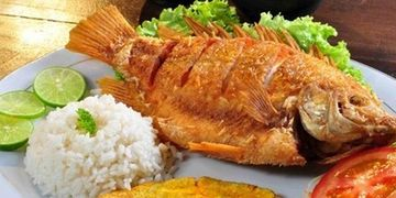 Colombian Fried Fish