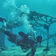 Federico Kessler | Coral reef restoration project | Cozumel Mexico | Living Sea Sculpture