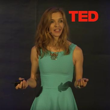 Colleen Flanigan Artist TED talk about coral reef health