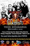 Mephisto - Central American tour of Nicaragua and Costa Rica December 2019.