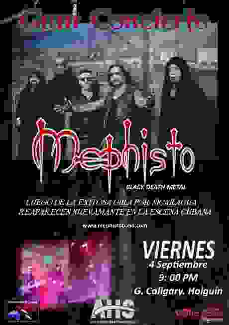 Mephisto Black Metal Band from Cuba
