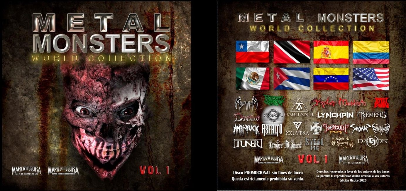 Metal Monsters World Collection Vol.1 Compilation Cd