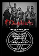 Mephisto Central American Tour - Costa Rica. Black Metal Cuban band