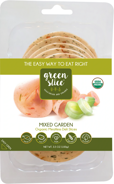 Green Slice Mixed Garden Organic Meatless Deli Slices