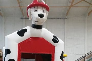 Marshal Dry only Fire dog  Commercial bounce house Dry Only Fire Dog