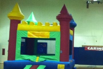 13x13 commercial bounce house  flat roof Plain bounce house