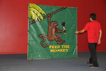 Feed the monkey game