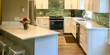 Kitchen Remodeled by Gritton Building Company