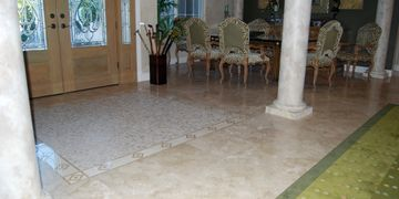 Marble Floor Cleaning, Travertine Floor Cleaning, Stone Floor Cleaning, Terrazzo Floor Cleaning