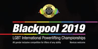 The LGBT International Powerlifting Championships are coming to Blackpool 2019