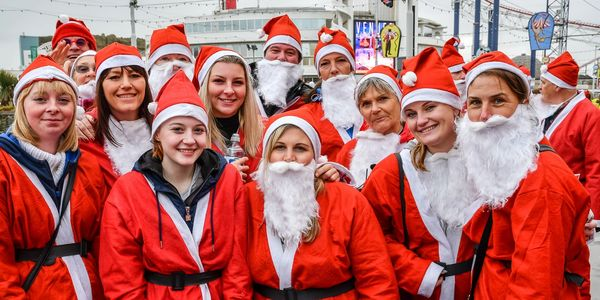 Sunny Dees cheap self catering apartments Blackpool charity Santa dash trinity house cancer