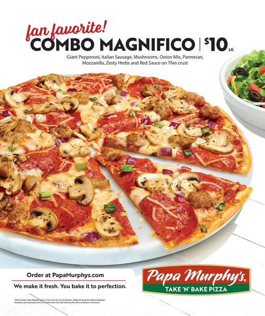 $10 Large Combo Magnifico