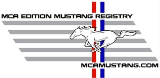MCA Edition Mustang Registry