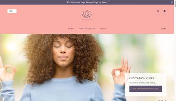 Yoga Website, Lotus Logo , Small Business Design