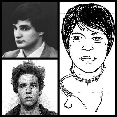 Suspect2 is top left, suspect1 bottom left, next to the UAPD composite sketch from Dukat murder.