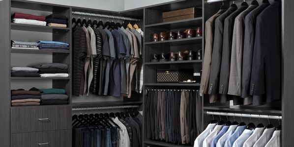 Licorice (textured finish) Closet