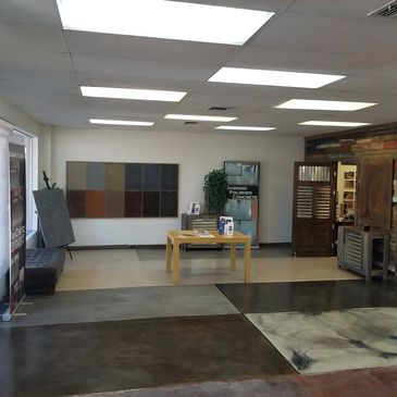 DIY classes, tulsa, stained concrete class, decorative concrete class, stain and seal class