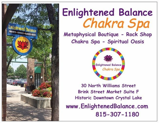 Enlightened Balance Psychic Readings in Crystal Lake Rock Shop in Crystal Lake