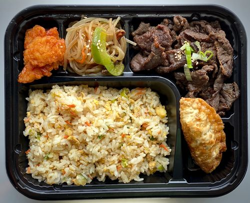 Korean Food Catering. Letsbap catering.