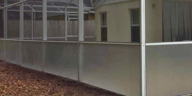 Pool Cage Painting; Pool Enclosure Painting; Enclosures Refurbishing and Re-Painting;