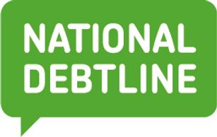 National debt line logo