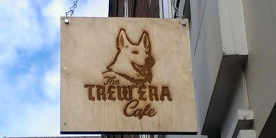 Trew Era cafe sign