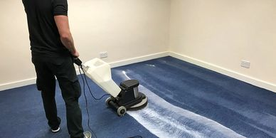 Carpet Cleaning Bonnet