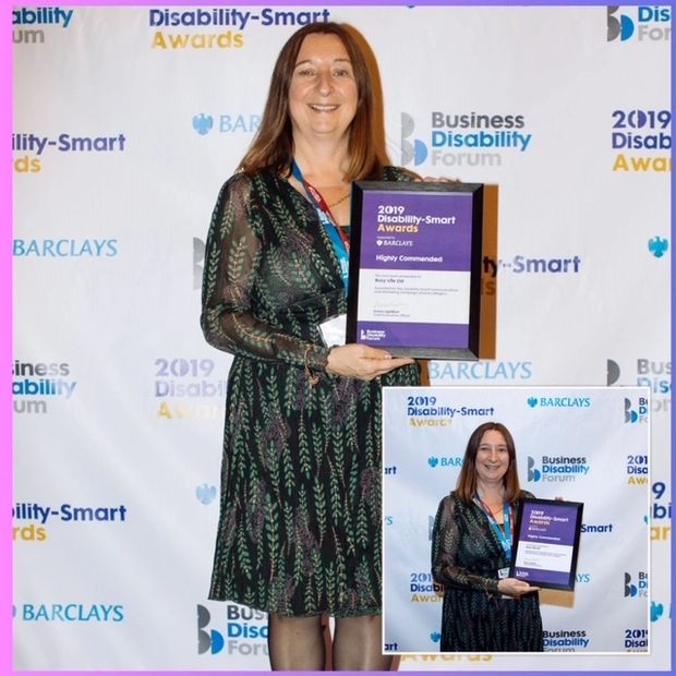 Busy Life wins Highly Commended at the 2019 Disability-Smart Awards!