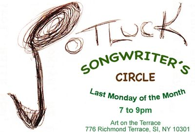 Potluck Songwriters Circle at Art on the Terrace