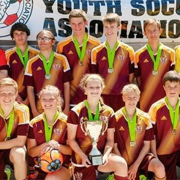 Competitive youth soccer in Helena Montana