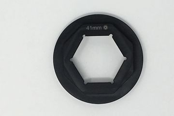 This is an example of our Non-Marring fork cap wrench inserts, which can be purchased separately