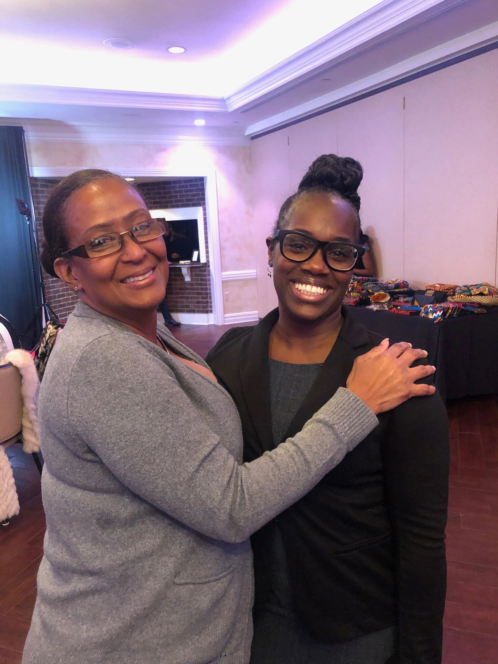 Women of the Month April Riddick and Shalon Easterling