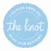 "Read our reviews on ""the knot"""