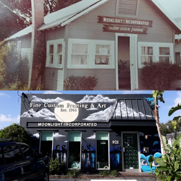 Moonlight Inc in 1965 and today!